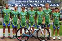 Equipe brasileira Giro del Trentino 2016 - Itália