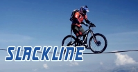 slackline - bike